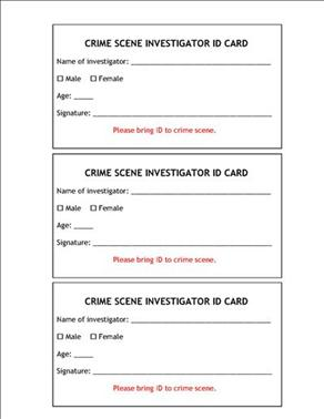 whodunit a forensic investigation Simulated blood typing whodunit lab activity  crime investigators were called to the scene of a burglary mr  forensic blood, 1 part b .